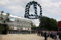 3. Juni 2008: Richtfest bei Sumitomo Drive Technologies in Markt Indersdorf