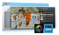 Flumotion und NTT Europe lancieren die Video-Plattform der Basketball EuroLeague Women