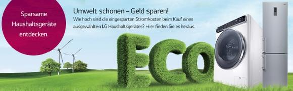 """""""Green"""" und smart - der neue Sparrechner von LG"""