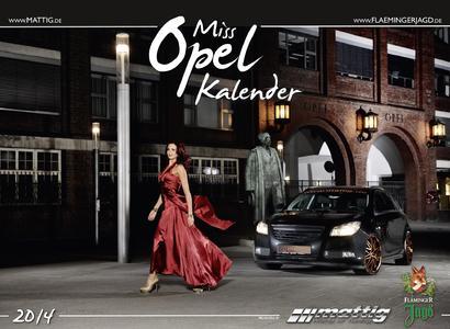 Mattig Miss Opel Kalender Titel