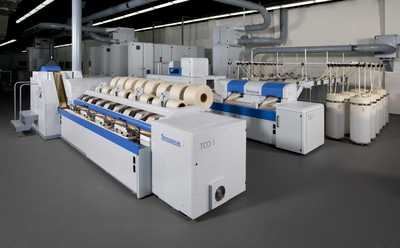 Truetzschler technical centre with new comber