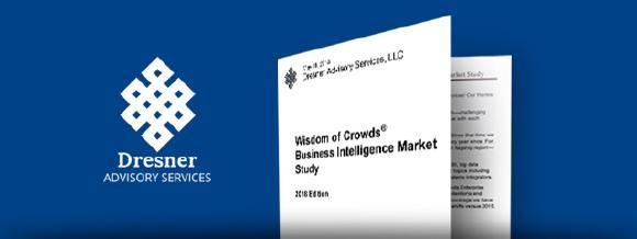 Wisdom of Crowds Business Intelligence Marktstudie 2018