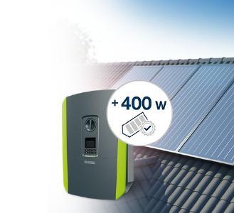 Los nuevos módulos solares de 400 W generan una mayor producción energética, mientras que las celdas más grandes proporcionan flujos superiores en el módulo. Aquí es donde la elección del inversor adecuado juega un papel esencial. Los inversores de KOSTAL ya pueden procesar los flujos superiores de energía de la generación de módulos de 400 W.