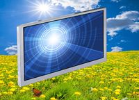 Neues 7 Zoll High Brightness WVGA LCD