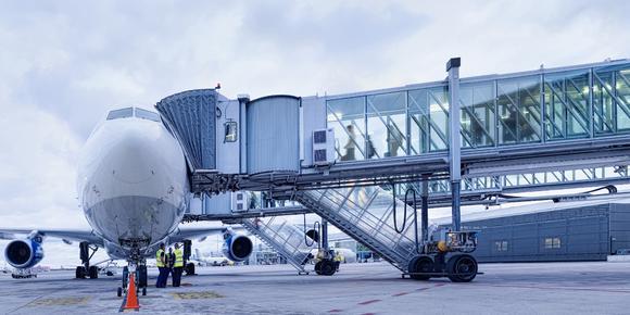 Passenger Boarding Bridge A380 / (c) thyssenkrupp