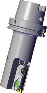 Le mécanisme de réglage est facile à utiliser et permet des corrections dimensionnelles extrêmement précises de l'ordre du micron dans le cadre du perçage de précision.