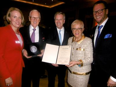 High honour for Dietmar Harting
