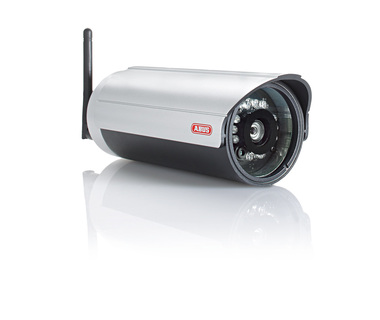 ABUS Security-Center provides WLAN network cameras for outdoor areas