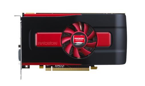 Radeon HD 7850 Straight On 10x10