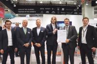 Von links: Kentaro Ellert (PwC), Arved Graf von Stackelberg, Marc Schieder, Lukas Hartmann, Markus Vehlow (PwC) und Johannes Schreier