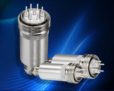 multi-pin high voltage connector Series-M, 12 kVDC / 30 A, GES Electronic & Service