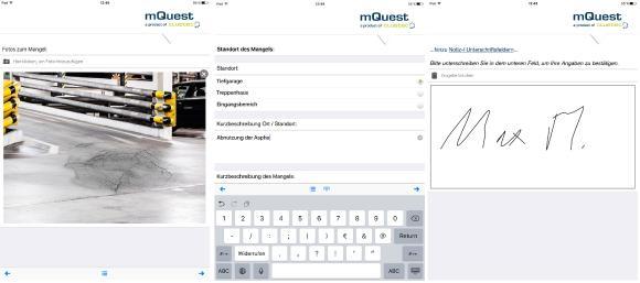 Daten offline erfassen und automatisch an ein Intrexx-Portal weiterleiten – das geht jetzt mit mQuest, © United Planet GmbH, Abdruck honorarfrei