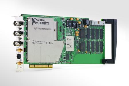 PCI-5124: neuer PCI-basierter Digitalisierer mit 200 MS/s