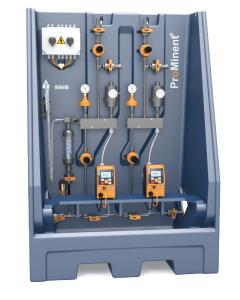 The modular metering systems DULCODOS® universal are suitable for the precise metering of chemicals and additives.