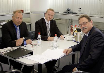 Torsten Ussing, Christian Linthaler und Dieter Dallmeier
