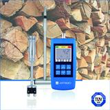 MFM 22 from AFRISO - The first stand-alone moisture measuring instrument with TÜV approval as per VDI 4206 for professional evaluation of firewood