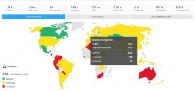 NEW UEM World & Regional Map Views