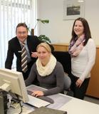 Das Projektteam: Christian Spindler, Stefanie Raab und Ingrid Meier