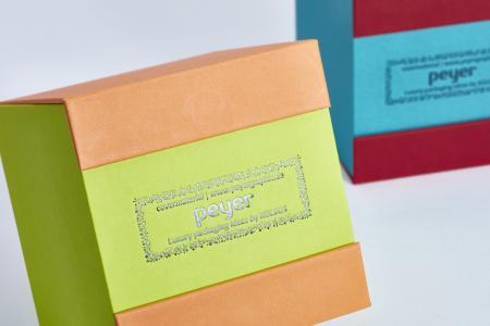 Bunte Cubes mit Surbalin Foto: Volker Schrank
