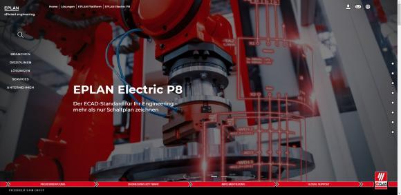 Innovativ, übersichtlich und multimedial: Die neue Website von Lösungsanbieter Eplan ist online, Quelle: Eplan Software & Service GmbH & Co. KG