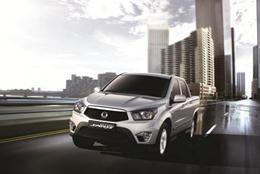 Mit seinem leistungsstarken 2,0-Liter-Dieselmotor macht der Pick-up auch im Alltag oder als Lastfahrzeug im Arbeitseinsatz eine gute Figur (Foto: SsangYong Motors Deutschland GmbH)
