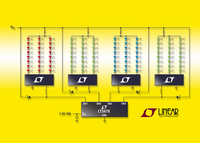 Quad LED Driver Drives up to 32 1A LEDs & Offers 1000:1 True Color PWMTM Dimming