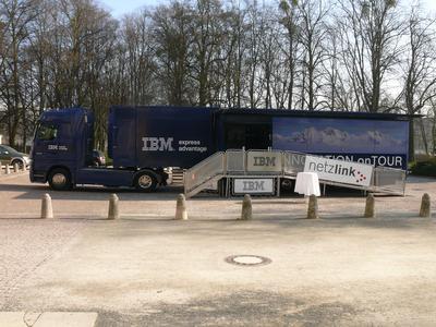 Der HighTech Truck von IBM
