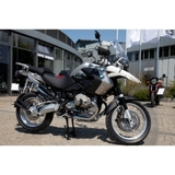 Two-millionth motorcycle off assembly line in Berlin Spandau. A one-off special edition R 1200 GS.