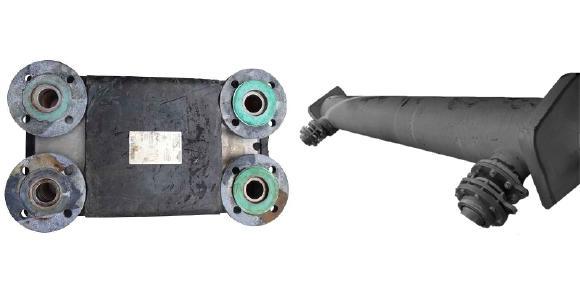 Nicht demontierbarer Plattenwärmetauscher und geschlossener Rohrbündelwärmetauscher