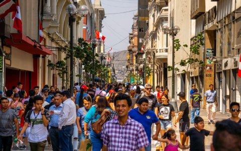 Peru erlebt politische Turbulenzen.