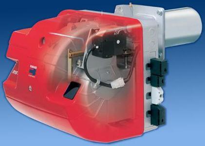 Die neuen Gasbrenner RS 35 / E BLU für den Leistungsbereich 80 bis 480 Kilowatt und RS 25 / E BLU für 70 bis 370 Kilowatt sind mit einem digitalen Steuergerät zur elektronischen Verbundregelung ausgerüstet