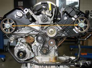 Audi And Vw Contitech Experts Provide Timing Belt