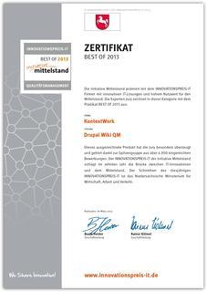 Drupal Wiki BEST OF 2013