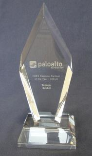 Telonic ist Palo Alto Networks Partner of the Year 2015