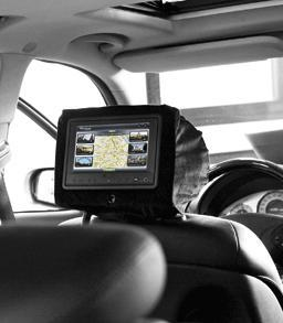Intelligentes Infotainment in Taxis