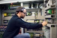 Remote Service mit VR-Brille