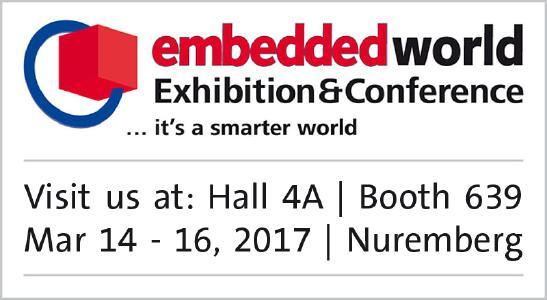 Elmos auf der Embedded World 2017