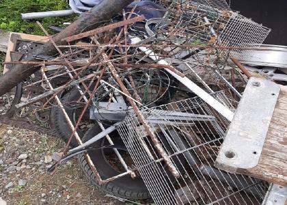 In Dinslaken Altmetall loswerden durch mobile Schrottabholung in  Dinslaken Schrott und Altmetall Entsorgung