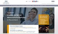 International School of Management (ISM) mit neuem Internetauftritt