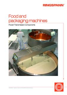 """Food and packaging machines"""