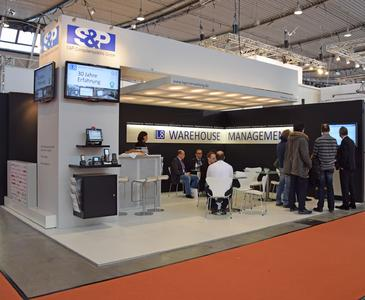 Messestand SuP LogiMAT
