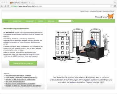 SteuerFuchs Screenshot