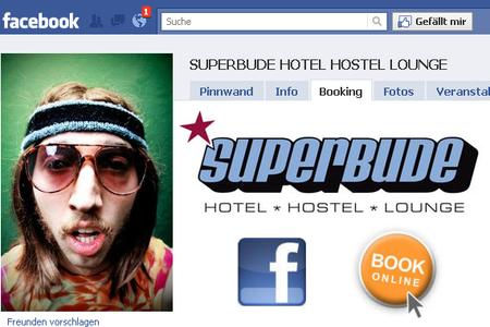 Superbude Facebooking