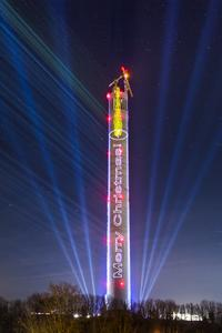 test tower merry christmas (c) thyssenkrupp