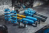 Die Performance-Produkte von Bilstein werden im neuen Online-Shop des Herstellers ansprechend präsentiert