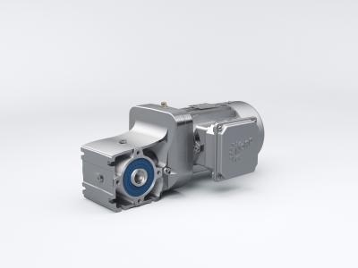 Die neuen zweistufigen NORDBLOC.1 Kegelradgetriebe mit 50 Nm von NORD DRIVESYSTEMS stellen eine hocheffiziente Alternative zu Schneckengetrieben dar