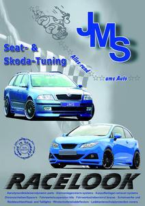 JMS Racelook Seat & Skoda Tuning catalog