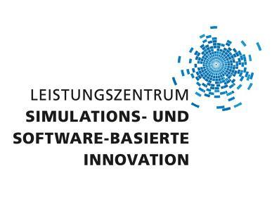 Logo Leistungszentrum »Simulations- und Software-basierte Innovation«, © Leistungszentrum »Simulations- und Software-basierte Innovation«