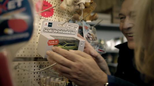 Innovative Werbekampagne rückt Suzuki Vorteilskollektion in den Mittelpunkt