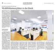 Bayerische Staatszeitung berichtet über das moderne Beleuchtungskonzept der Sparkassen Bad Tölz-Wolfratshausen